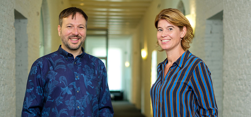 Jeremy Bierbach en Peggy Franssen